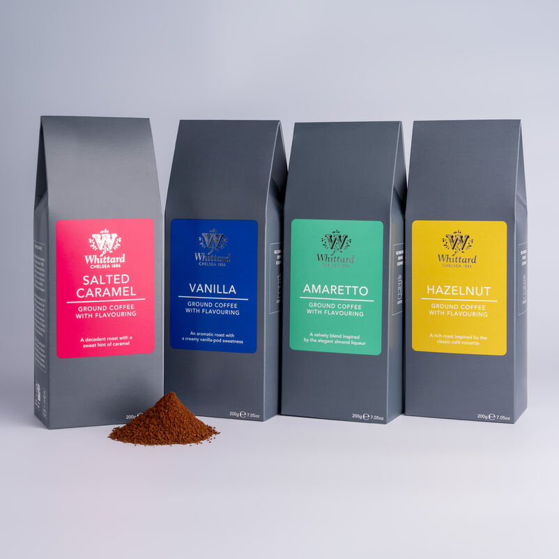 Image of flavoured coffees